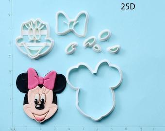 Minnie MouseFondantCutterMinnie MouseCookieCutterMinnie MouseGiftMinnie MousePartyMinnie MouseBirthdayGift