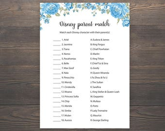 Floral Baby Shower Games Printable Baby Shower Disney Parent