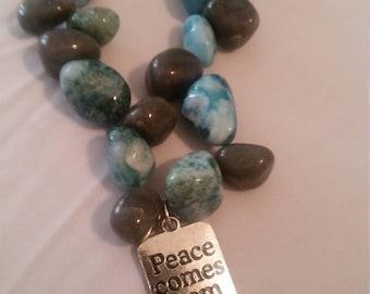 Peaceful Stream Necklace