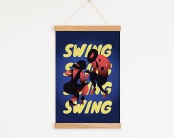 "Decorative film ""Swing"""