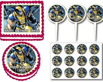 Wolverine Party Etsy