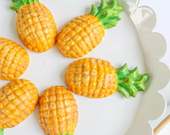 Pineapple Chocolates- Fake candy, prop candy, party decor