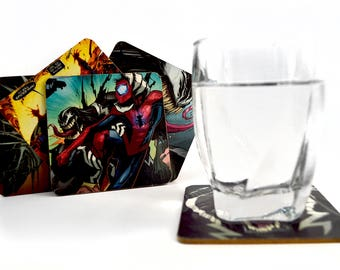 NEW Venom vs. Spider-Man Coasters