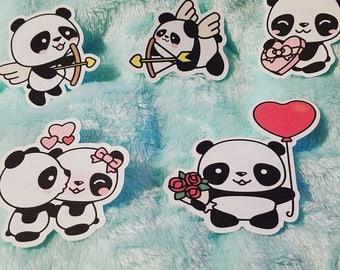 Frank the Panda- die cuts