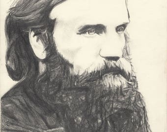 A Portrait of George MacDonald (print)