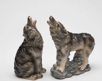 Wolf Salt and Pepper Shaker (20739)