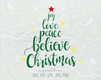 Joy Love Peace Etsy