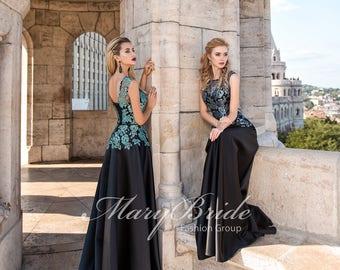 Budapest- Evening dress V-037