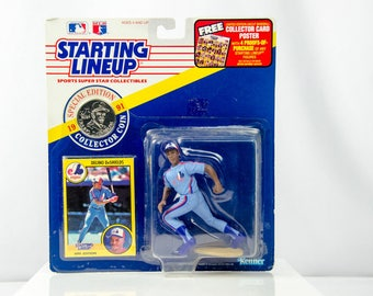 Starting Lineup 1991 Delino DeShields Action Figure Montreal Expos