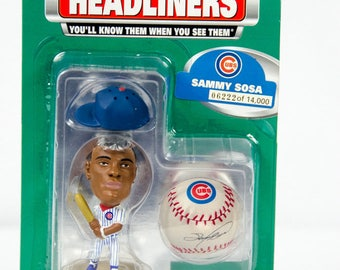 1999 Limited Edition Headliners Series 1 Sammy Sosa Figure Chicago Cubs