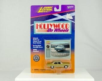 Johnny Lightning Hollywood on Wheels Dragnet 1/64 Diecast Car