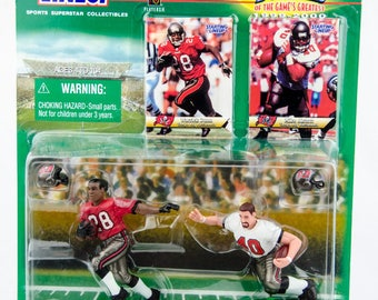 Starting Lineup Classic Doubles NFL Warrick Dunn & Mike Alstott Action Figure