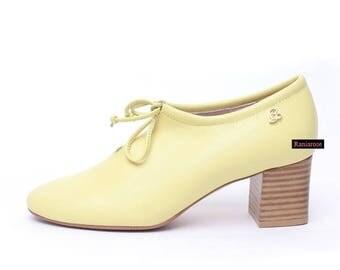 Lemon R middle heel pumps