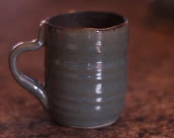 Green/Gold Mug