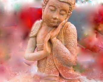Gentle Buddha photo print