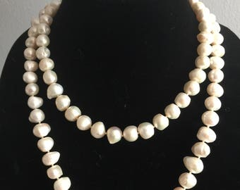 Fresh Water Baroque Pearl Necklace