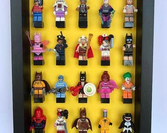 Minifigure Display Case - Batman Series - Holds 20 Minifigures