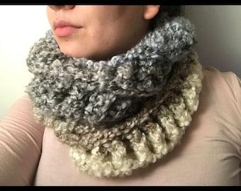 Ombré Crochet Scarf