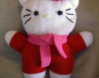Toy knitting pattern for the pleasure of kids and adults