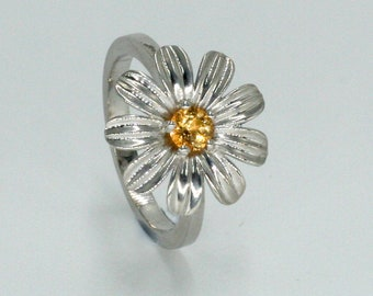Ring Margarita swarovski Daisy ring swarovski ring flower flowers ring Swarovski ring Swarovski Ring