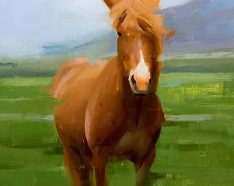 Icelandic Horse #11 - Print
