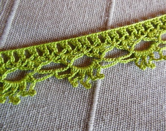 Lace crochet trim to customize