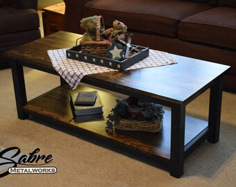 metal coffee table | etsy