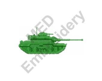 Army - Machine Embroidery Design, Army Tank
