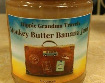 Handmade Organic Monkey Butter Jam