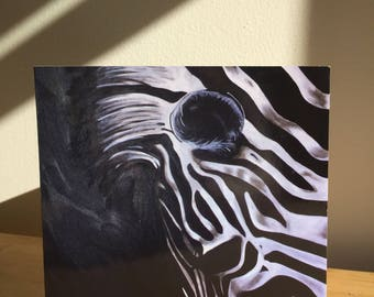 Greeting card - Zebra