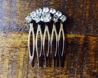 Bridal Rhinestone Hair Comb