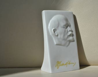 "The plaque ""Lenin"" of the USSR. Very rare"