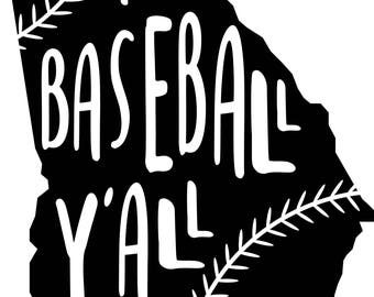 Georgia Baseball svg file