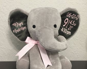 Elephant Birth Announcement