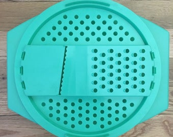 Vintage Tupperware Cheese Slicer, Grater, or Salad Shredder.