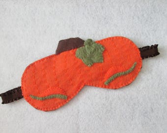 Pumpkin Sleep Mask