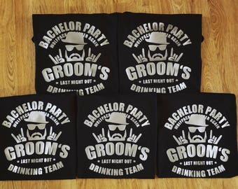 Bachelor Party Shirts, Groomsmen Shirts, Custom Bachelor Party Shirts, Custom Wedding Party Shirts, Custom Wedding Shirts, Custom Shirts