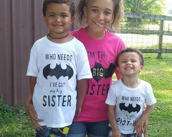 Batman Sibling Shirts