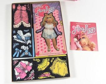 1980 Colorforms Miss Piggy Dress-Up Set - Unused! Muppets 80s Colorforms 644 NOS