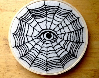 Spider Web | embroidery