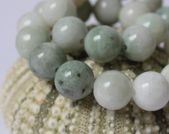 Green Marble Beads
