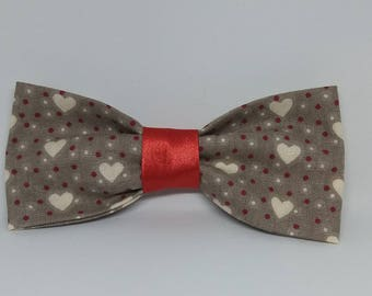 "Bow tie for cats / dogs ""Le coeur"""