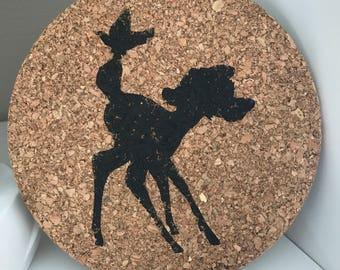 Bambi pin Cork Board