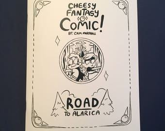 Cheesy Fantasy Comic - Road to Alarica