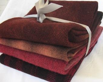 Dorr Mill Wool Fabric/Handle Dyed Bundle