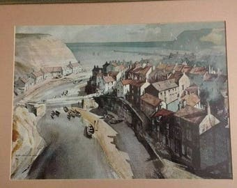 Roland Hilder print of Whitby