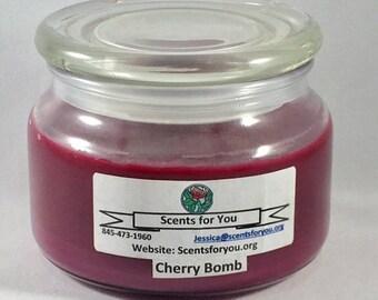 Cherry Bomb Medium Candle