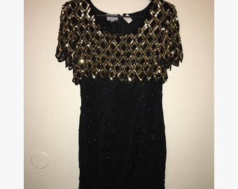 Vintage Sequined Dress