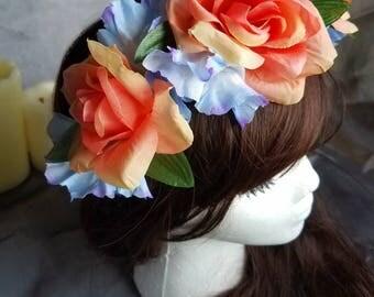 Glorious Morning Flower Crown