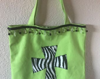 Zebra Bible Book Bag